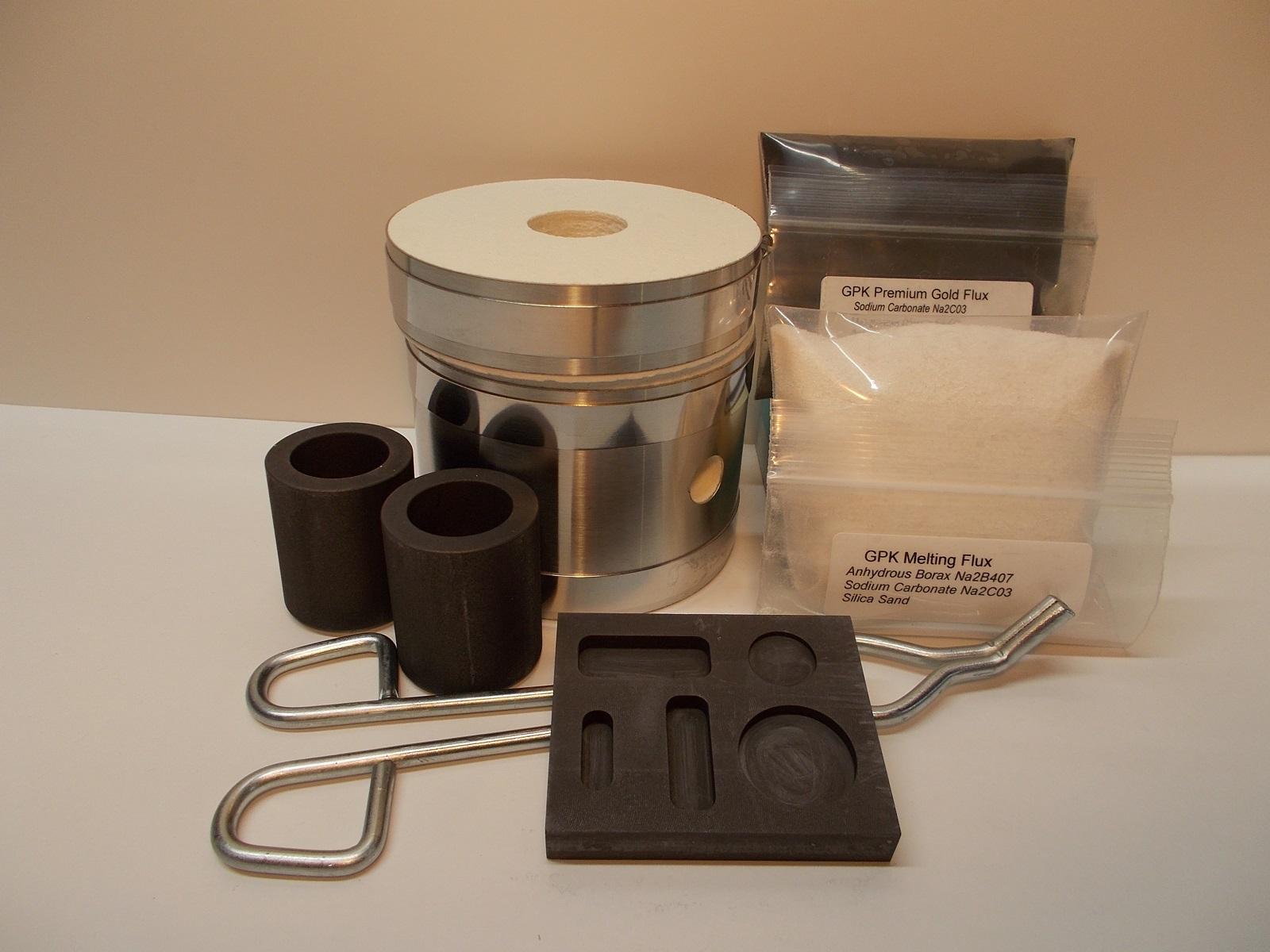 kk6c Kwik Kiln 6 Cupeling Kiln mini propane fired cupeling kiln for fire assay