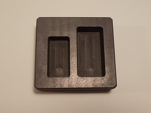 Graphite 5oz/10oz Gold Double Loaf Mold