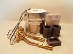 GPK Deluxe Kwik Kiln® II Melting Kit with 2 Mag-Torches